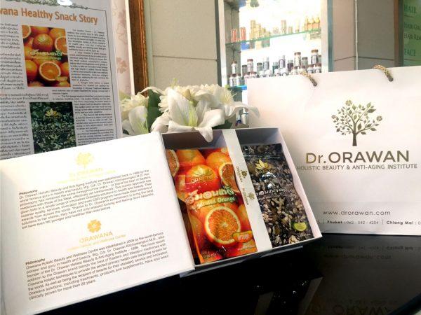 healthy snacks giftset orawana