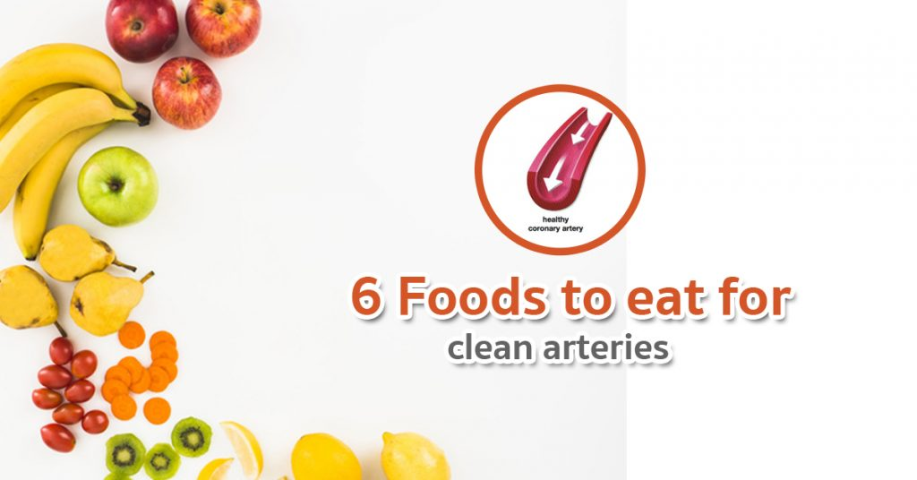 6 foods to clean arteries