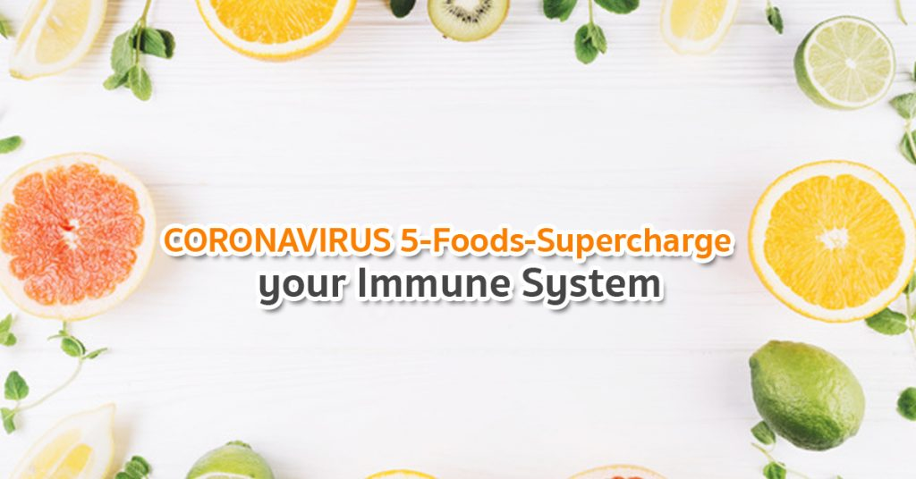 food to improve immune during coronavirus